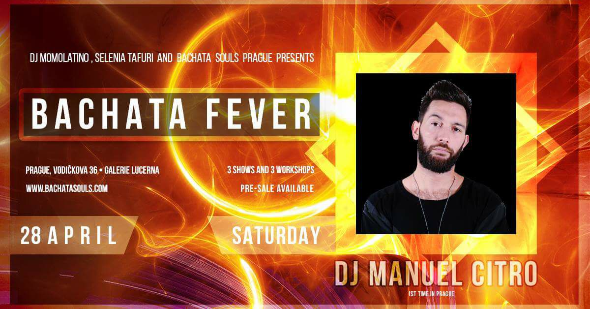 Dj Manuel Citro in Prague